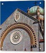 St. Augustine Florida Church Acrylic Print