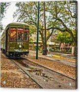 St. Charles Streetcar Acrylic Print