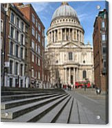 St Pauls Cathedral Acrylic Print