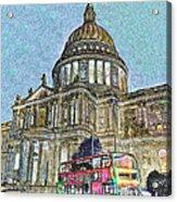 St Paul's Cathedral London Art Acrylic Print