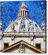 St Peter In Vatican Acrylic Print