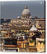 St Peters Basilica Acrylic Print