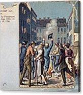 Stamp Act Riot, 1765 Acrylic Print