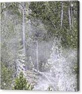 Steam Rising Acrylic Print