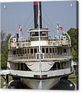Steamboat Ticonderoga Acrylic Print