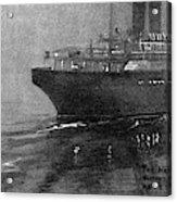 Steamship Accident, 1914 Acrylic Print