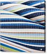 Striped Material Acrylic Print