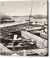 Suez Canal Port Said Acrylic Print