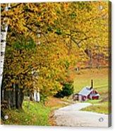 Sugar Mill Vermont Acrylic Print