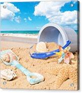 Summer Beach Acrylic Print