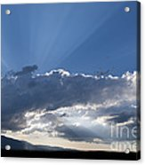 Summer Clouds Acrylic Print