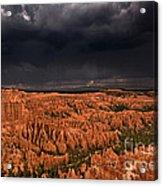 Summer Thunderstorm Bryce Canyon National Park Utah Acrylic Print