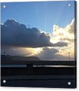 Sunbeams Over Conwy Acrylic Print