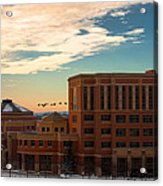 Sunrise Flyby Acrylic Print