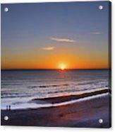 Sunrise Over Atlantic Ocean, Florida Acrylic Print
