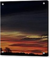 Sunrise Over The Fields Of Athenry. Acrylic Print