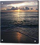 Sunrise Acrylic Print by Roque Rodriguez