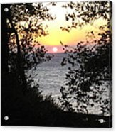 Sunset In Samothraki Acrylic Print