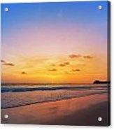 Sunset On Phiphi Island Acrylic Print