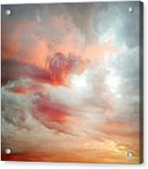 Sunset Sky Acrylic Print by Les Cunliffe