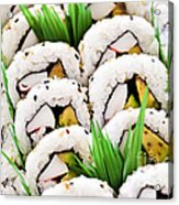 Sushi Platter Acrylic Print