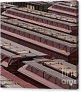 Switch Yard For Box Cars Acrylic Print