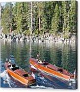 Tahoe Classics Acrylic Print