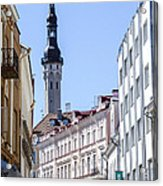 Tallin Estonia Acrylic Print