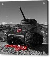 Tank Memorial Acrylic Print