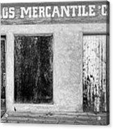 Taos Mercantile Acrylic Print