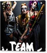 Team Violence Acrylic Print