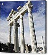 Temple Of Apollo In Side Acrylic Print