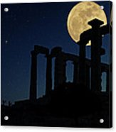 Temple Of Poseidon  Acrylic Print