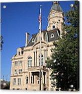 Terre Haute Indiana - Courthouse Acrylic Print