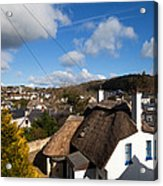 Thatched Cottages Near Dunmore Strand Acrylic Print