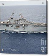 The Amphibious Assault Ship Uss Essex Acrylic Print