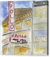 The Apollo Theatre Acrylic Print