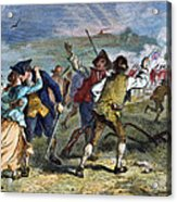The Battle Of Concord, 1775 Acrylic Print