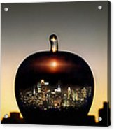 The Big Apple Acrylic Print by Etti PALITZ