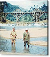The Bridge On The River Kwai Acrylic Print by Silver Screen