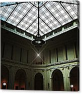 The Brooklyn Museum's Beaux-arts Court Acrylic Print