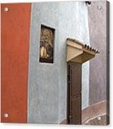 The Brown Door Acrylic Print