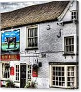 The Bull Pub Theydon Bois Essex Acrylic Print