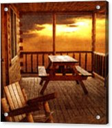 The Cabin Acrylic Print