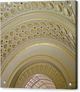 The Ceiling Of Union Station Acrylic Print