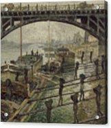 The Coalmen Acrylic Print