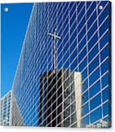The Crystal Cathedral Acrylic Print