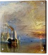The Fighting Temeraire Acrylic Print