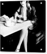 The Flapper Girl Acrylic Print
