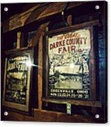 The Great Darke County Fair Acrylic Print